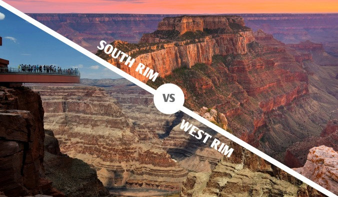 South Rim vs. West Rim