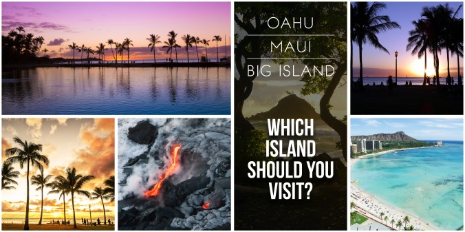 Oahu, Maui, and the Big Island: Which island should you visit?