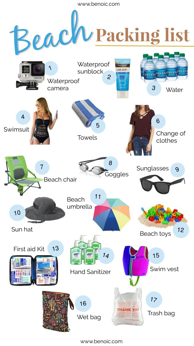 Ultimate Packing List: Beach Trip
