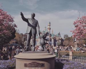 Partners statue in Disneyland