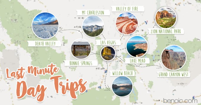 Last-minute Day Trips out of Vegas