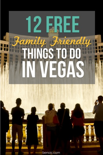12 free family friendly things to do in Vegas
