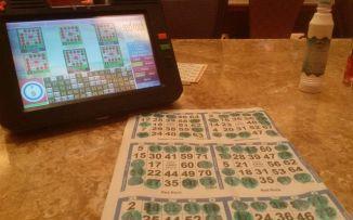 Vegas bingo machine