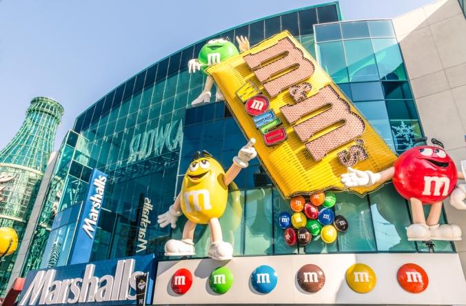 Vegas M&M's World