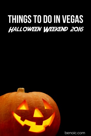 Things to Do in Vegas Halloween Weekend 2016