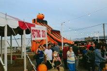 Slide at Seasonal Adventures Pumpkin Patch