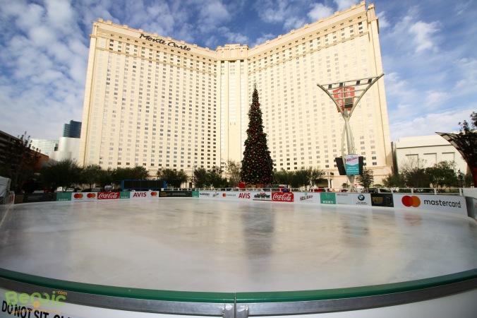 The Park Las Vegas Ice Rink