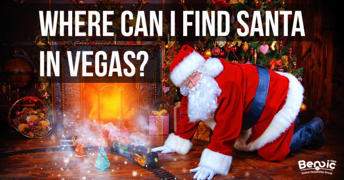 where can I find Santa in Vegas?